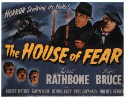 Sherlock Holmes : La maison de la peur affiche